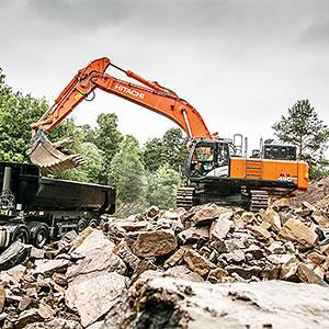 Hitachi ZX490LCH-6 excavator in Oslo
