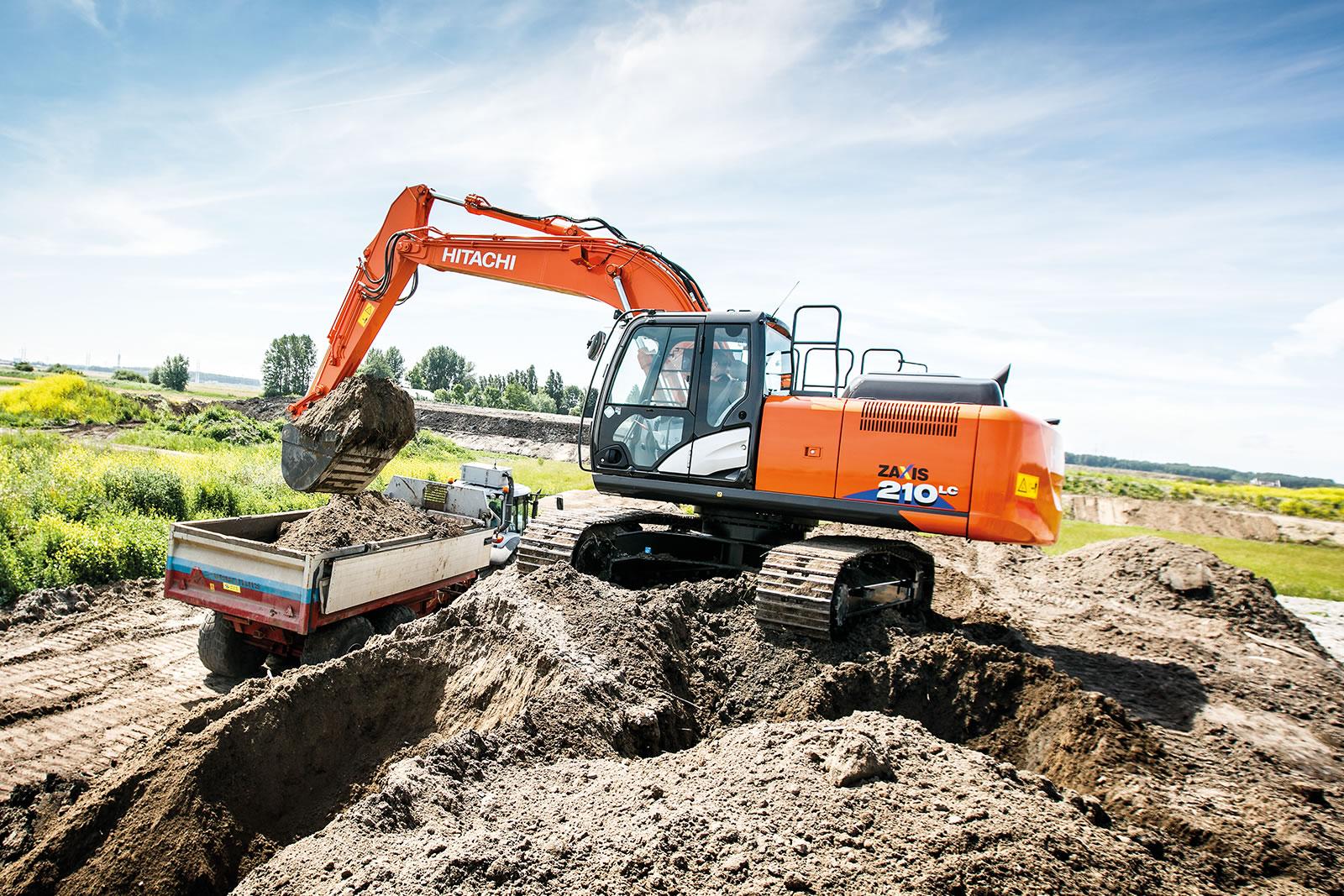 Zaxis-6 excavators are built to last
