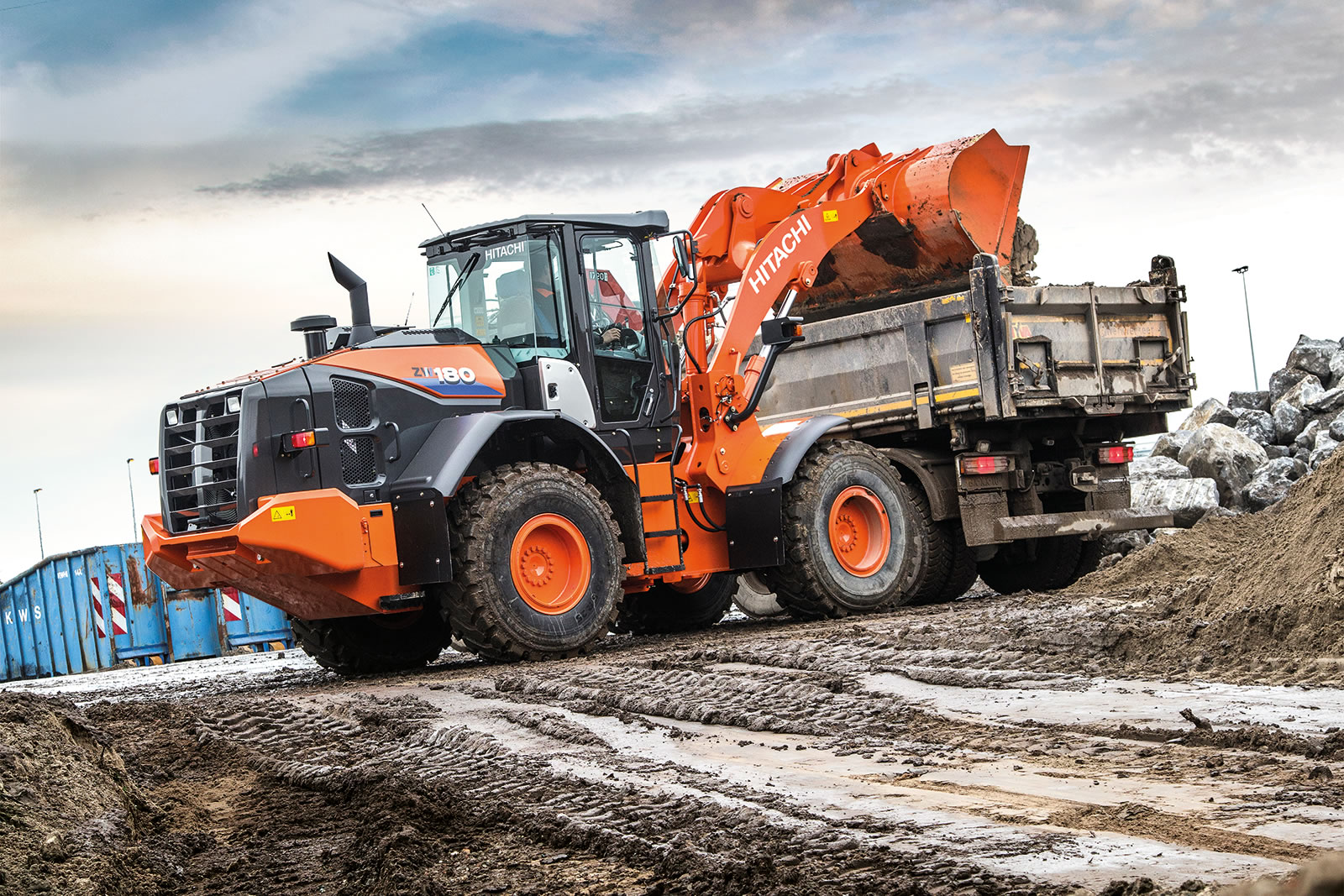 New ZW-6 wheel loaders are designed to meet any challenge