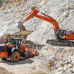 Hitachi construction machinery in Bulgaria