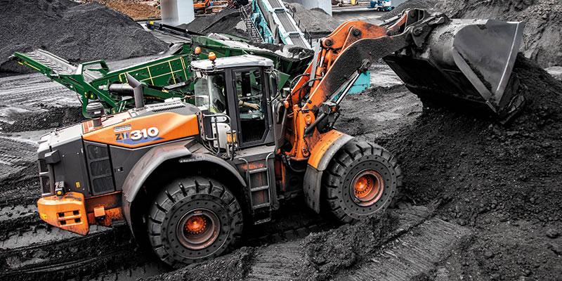 Hitachi Premium Rental Scheme wheel loader in The Netherlands