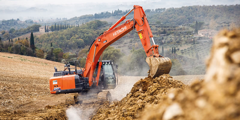 Owners of Hitachi Construction Machinery