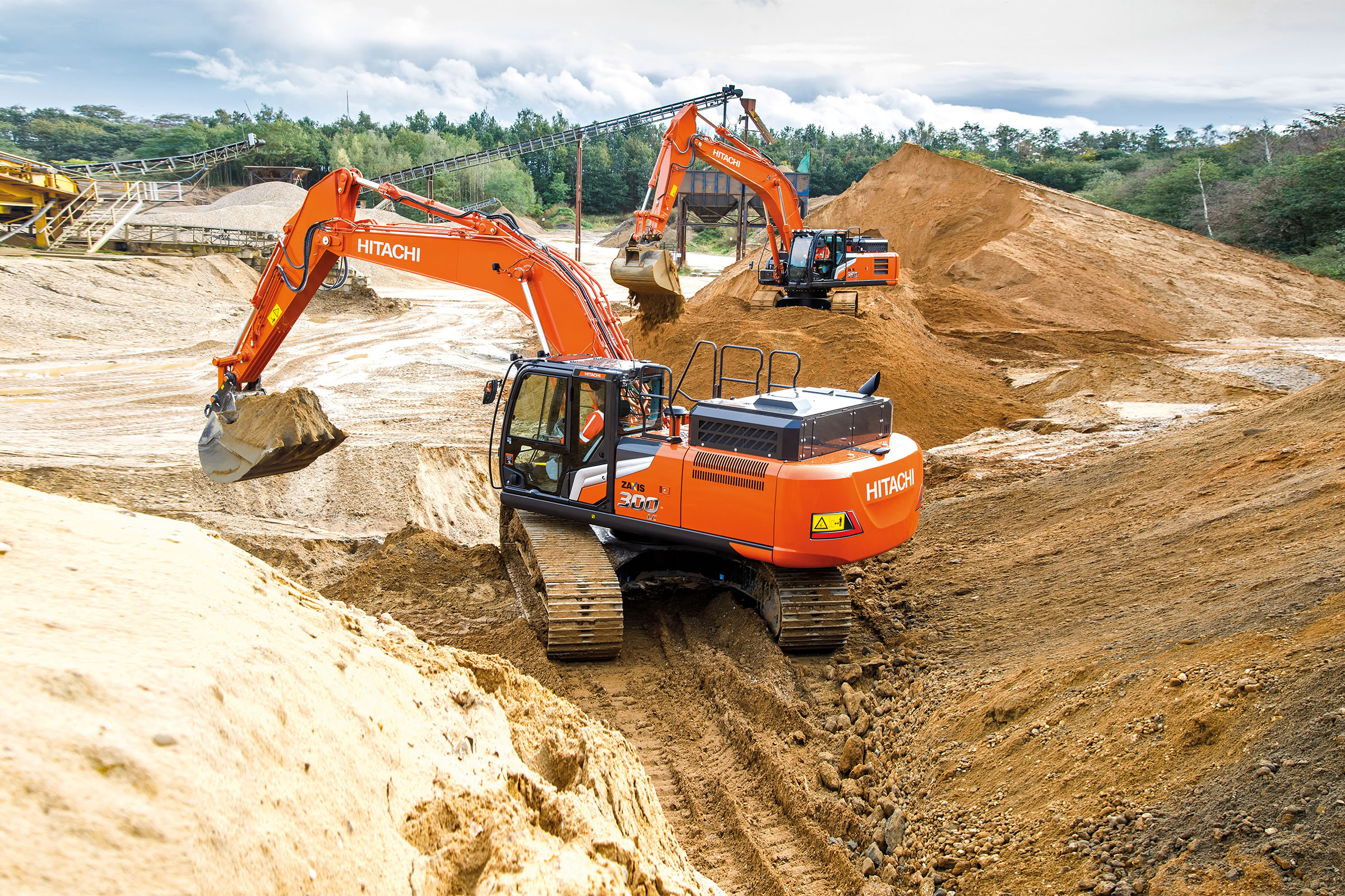You're in Control with Hitachi Zaxis-7 excavator
