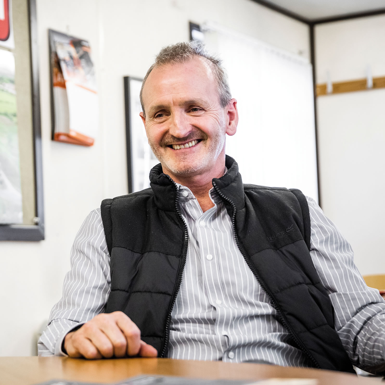 Managing Director of MJ Hickey, Anthony Hickey