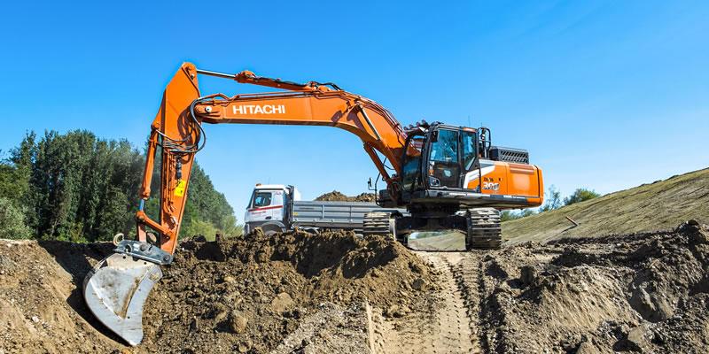 Hitachi Zaxis-7 excavator