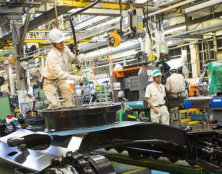 Hitachi Tsuchiura Works factory