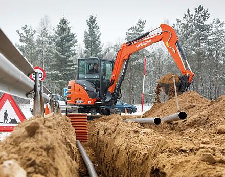 Zaxis-5 mini excavators