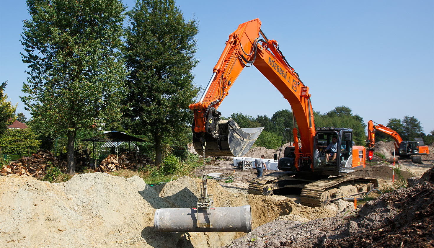 The first Hitachi ZX290LC-5 excavator in Belgium