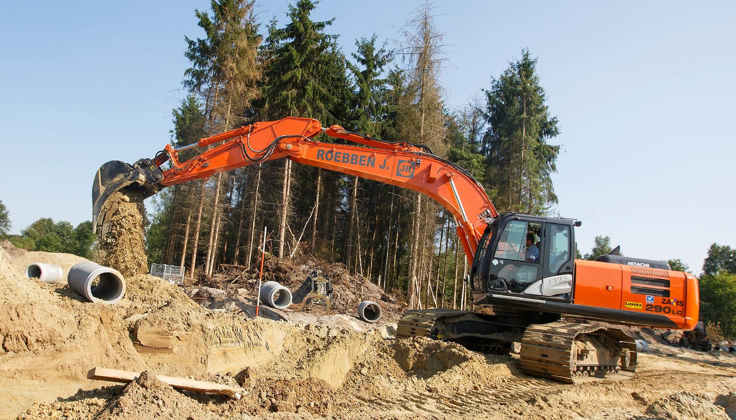 ZX290LC-5 medium excavator