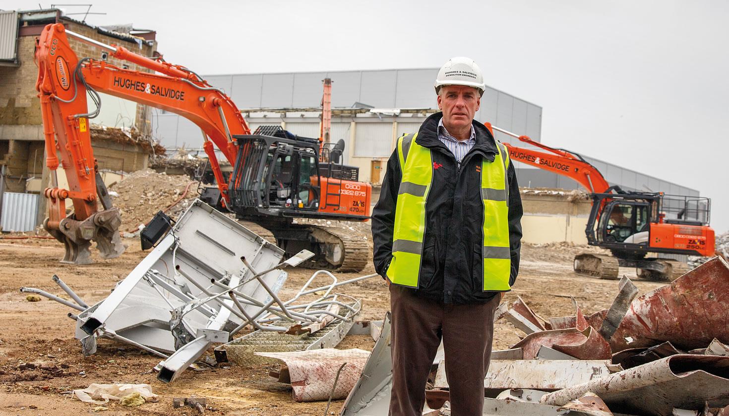 Hughes & Salvidge Managing Director Martyn Burnett