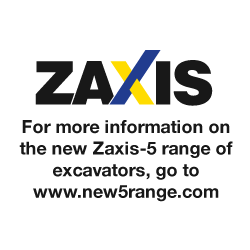 For more information on the new Zaxis-5 range of excavators, go to www.new5range.com
