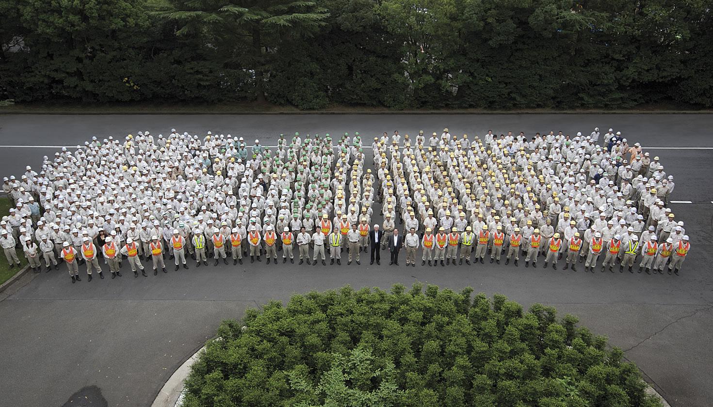 Tsuchiura Works factory employees
