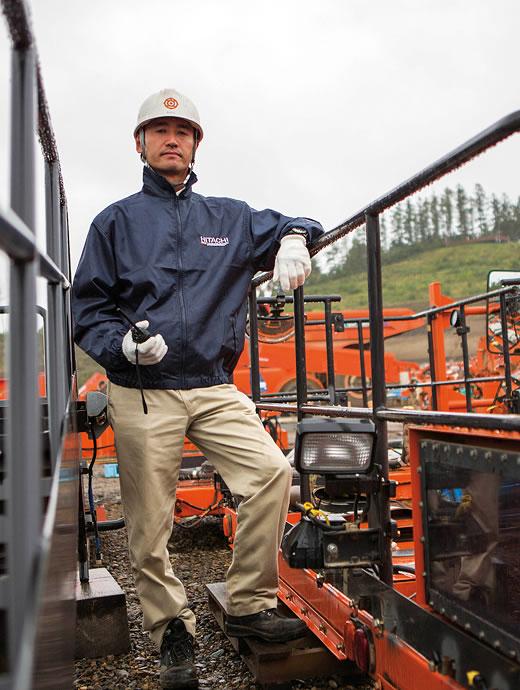 Assistant Manager Koji Otani