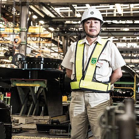 Assembly Section Manager Ryo Nakajima