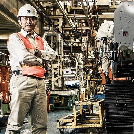 Foreman Junichi Nakamura