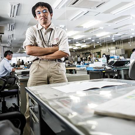 Production Management Centre Manager Takayuki Shiratori