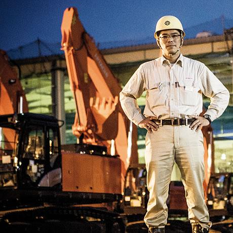 Senior Engineer and Manager Tsuyoshi Nakamura