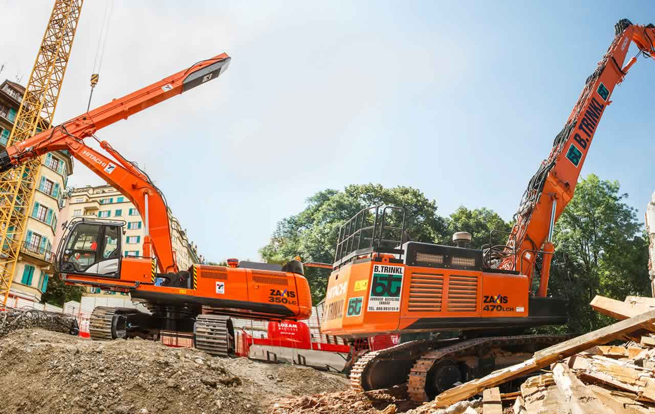 Hitachi Zaxis-5 special application machines