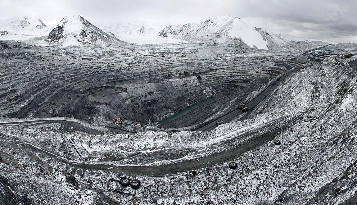 Kumtor gold mine in Kyrgyzstan