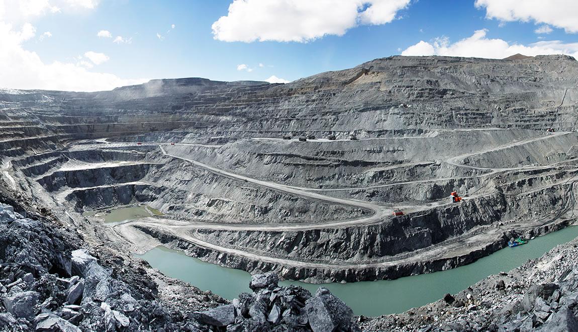 The high-altitude Kumtor gold mine