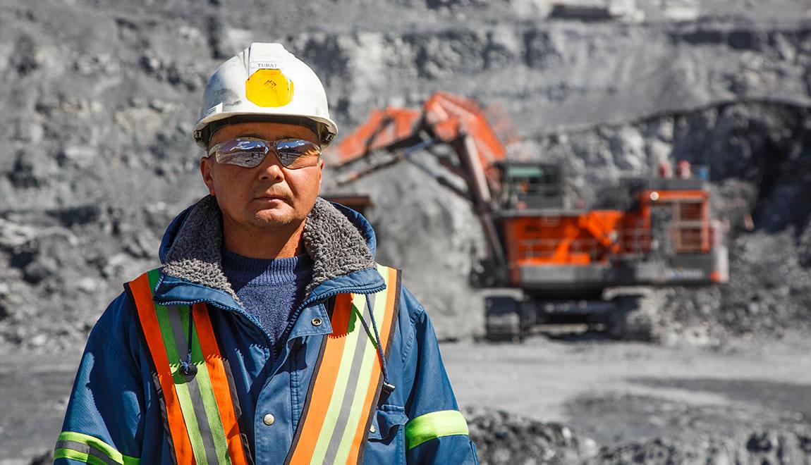 Turat Kemelov, operator at Kumtor gold mine