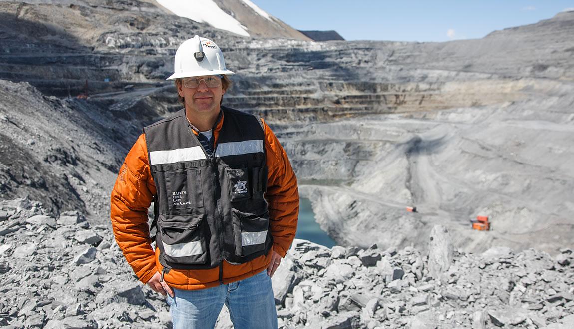 Rodney Stuparyk, Vice President of Operations, Kumtor Operating Company