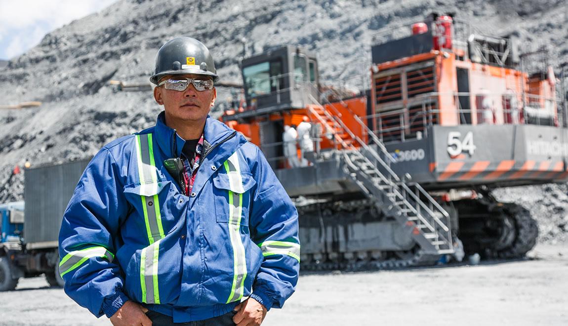 Tursunbek Dautov, Mine Maintenance Superintendent, Kumtor Operating Company