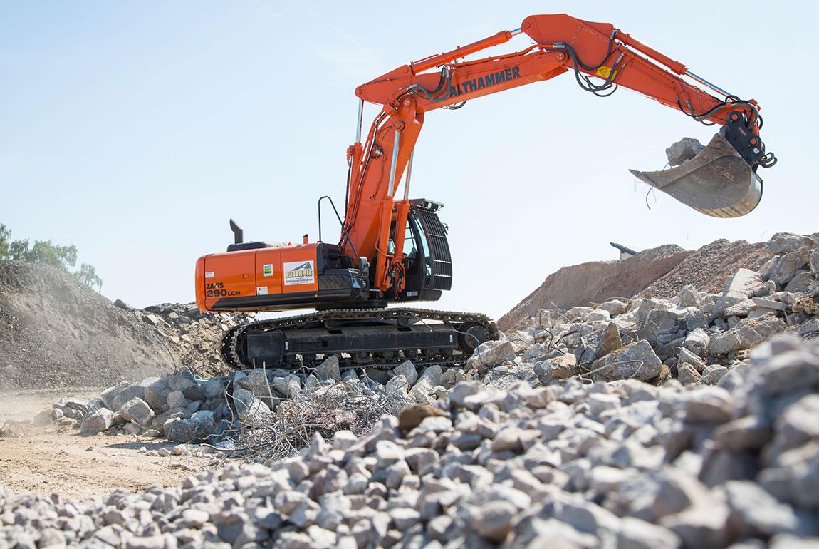 Hitachi ZX290LCN-5 medium excavator