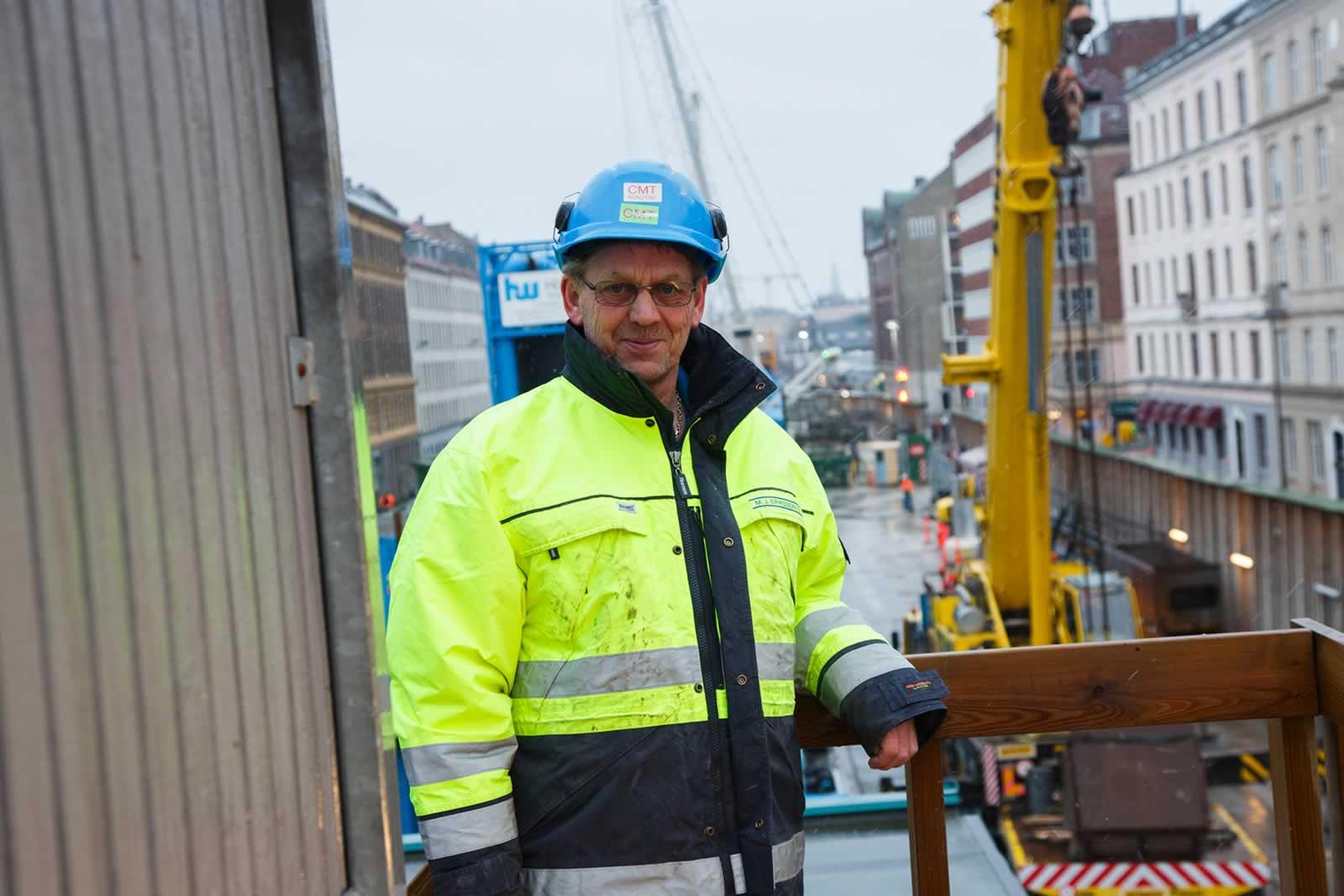 Erik Inmark, contremaître chez MJ Eriksson