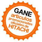 Gane artículos promocionales oficiales de Hitachi