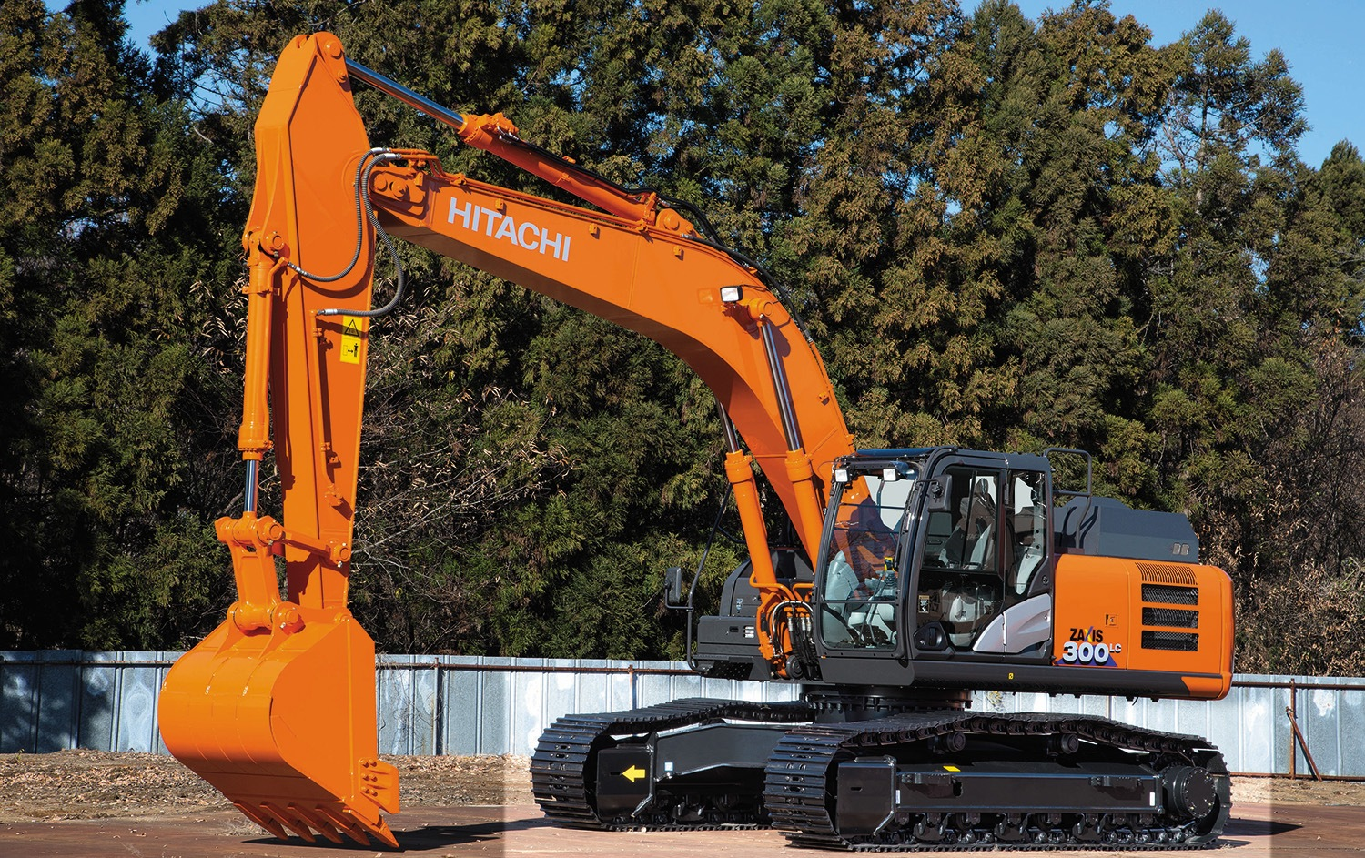 Hitachi launches the first Zaxis-6 excavator in Europe