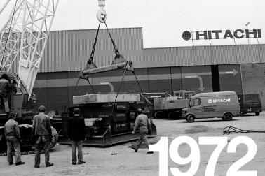 Hitachi history