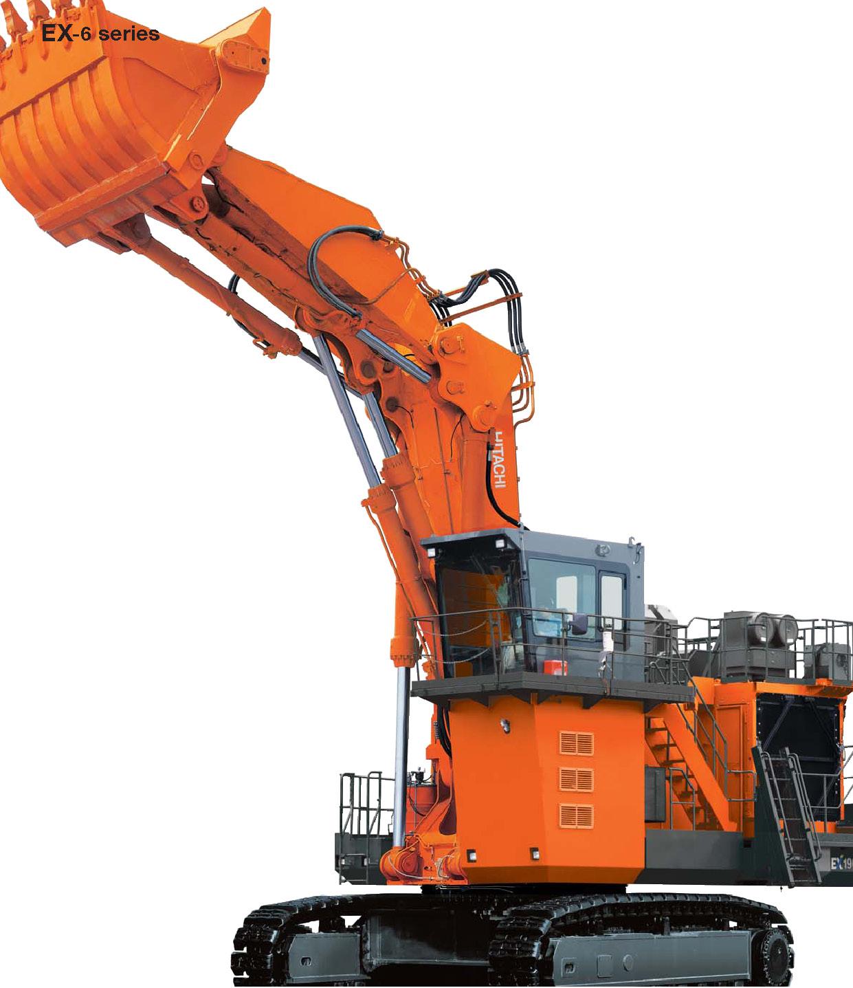 Ex1900 6 Hitachi Construction Machinery