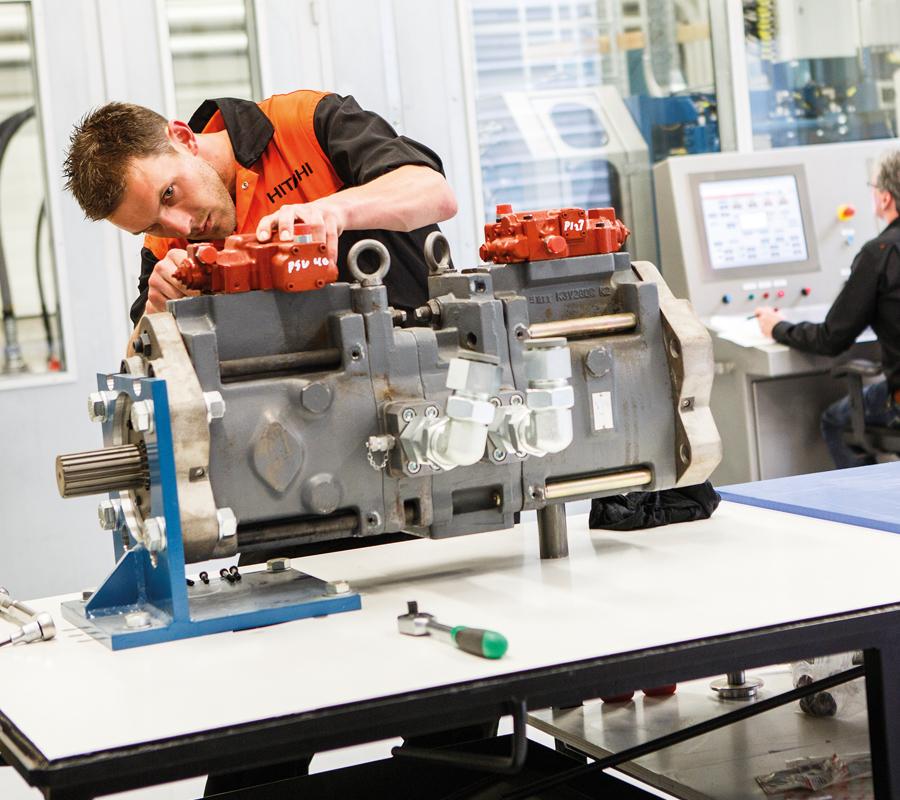 Remanufactured Parts - Hitachi Construction Machinery