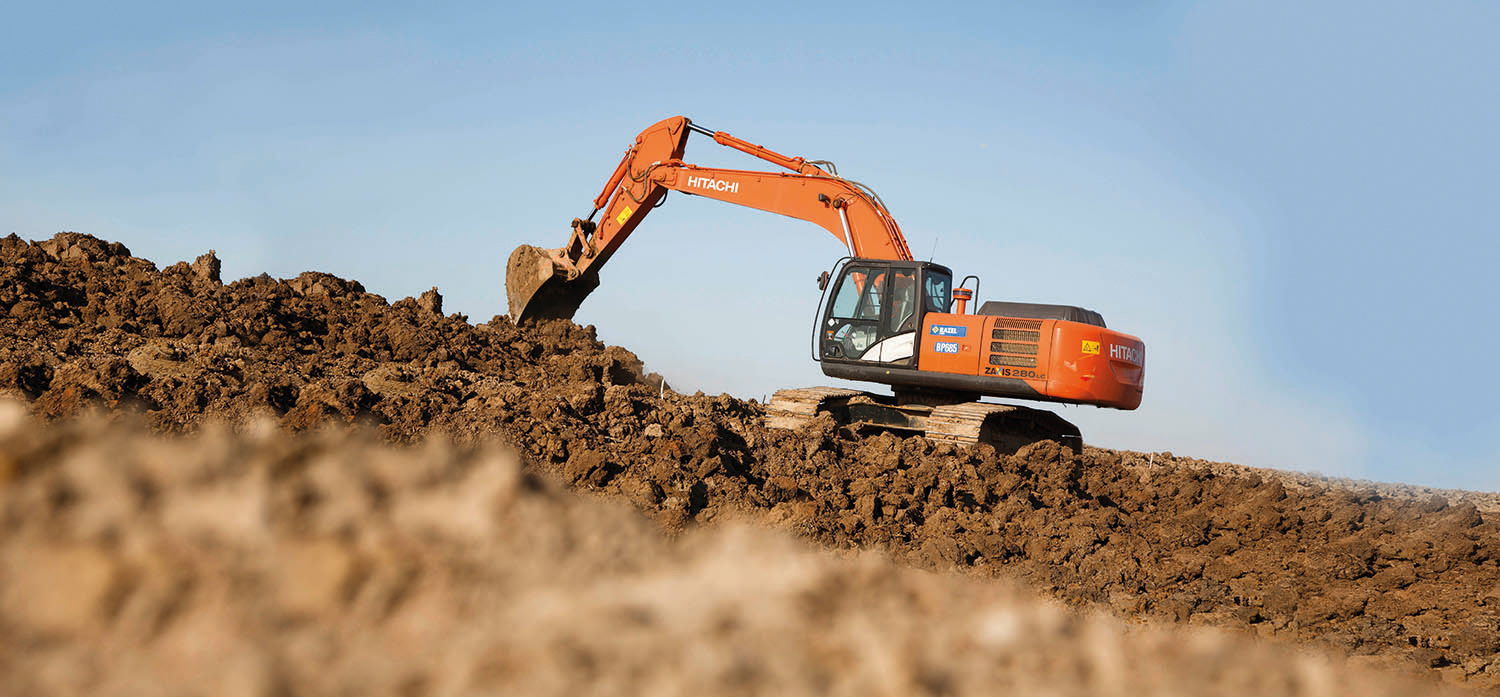 Production manufacture machines for earthmoving and land reclamation works