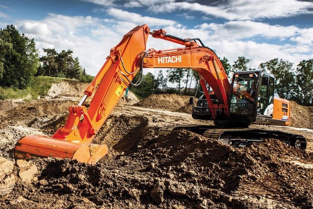 Zaxis 6 Hitachi stage 4 excavator - Hitachi Construction Machinery