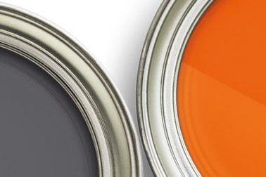Hitachi machinery paint cans