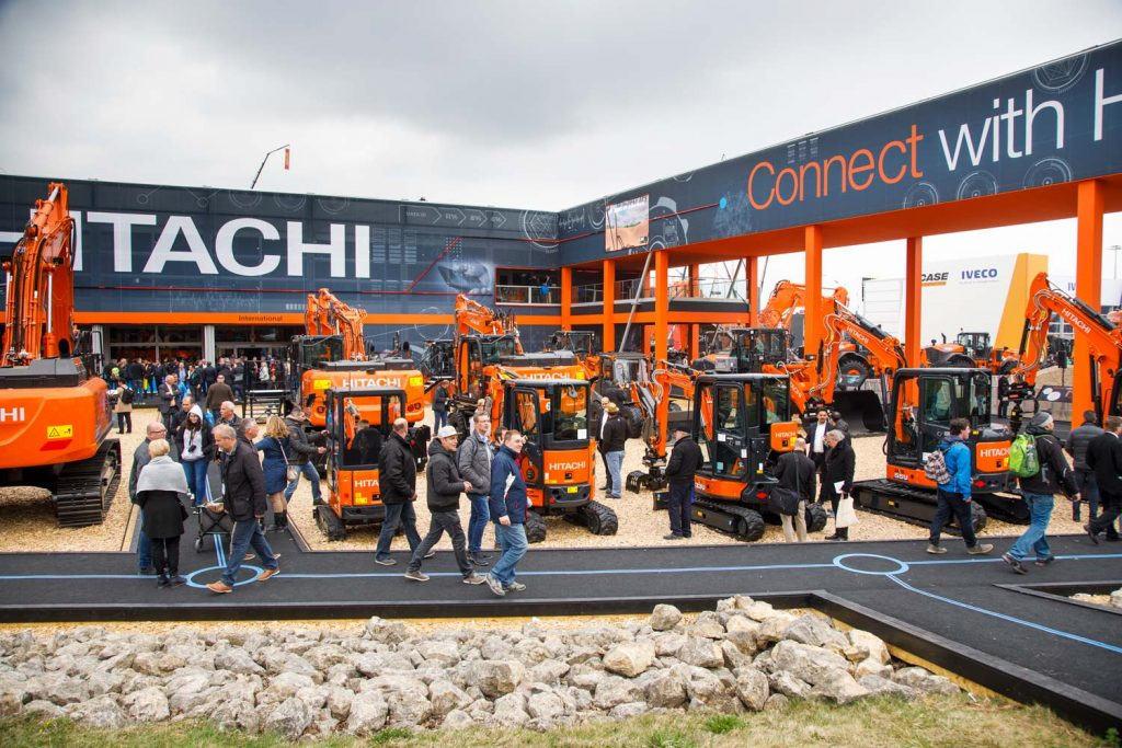 Hitachi at Bauma 2019 - Hitachi Construction Machinery