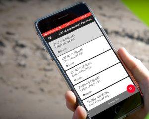 Hitachi's fleet monitoring app Consite Pocket