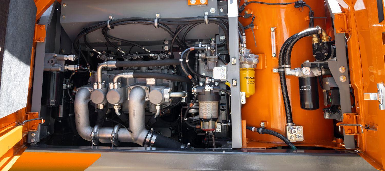 Hitachi Zaxis-7 TRIASIII hydraulic pumps