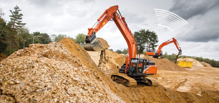 Hitachi Zaxis-7 manage your machine Global e-Service