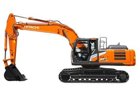 Hitachi Zaxis-7 medium excavator