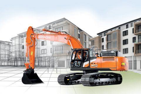 Hitachi ZX300-7 excavator