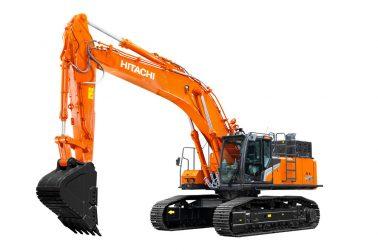 Hitachi ZX490-7 large excavator