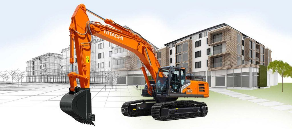 Hitachi ZX350-7 excavator