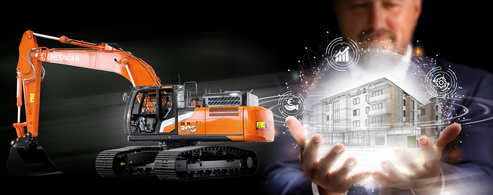 Hitachi Zaxis-7 You're in control