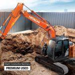 Hitachi ZX135US-6 excavator